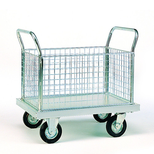Zinc Plated Platform Trolleys-2013