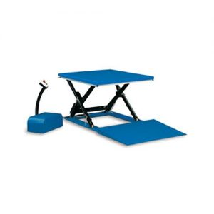 Low Profile Scissor Table with Ramp-0