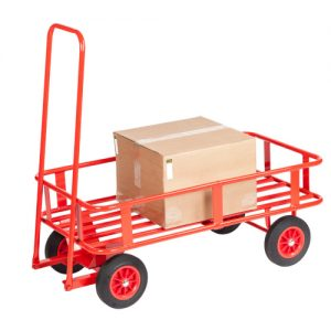 Heavy Duty Tubular Platform Trolley-0