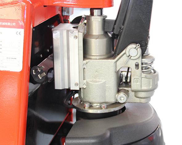 Semi-Electric Pallet Truck