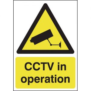 CCTV In Operation Signs-0