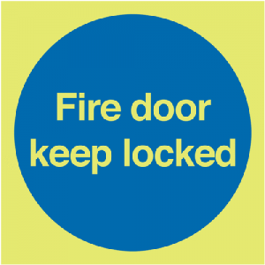 Fire Door Keep Locked Signs-0