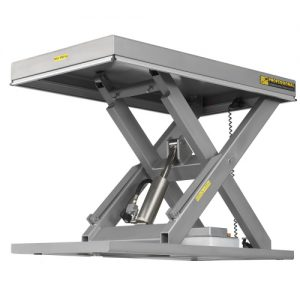 High Lift Stainless Steel Scissor Lifts-0