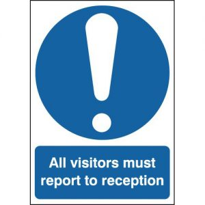 Report To Reception Signs-0