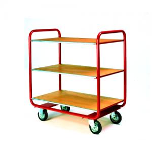 General Duty Shelf Trolley with 3 Shelves-0