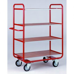 General Duty Shelf Trolleys with Four Shelves-0