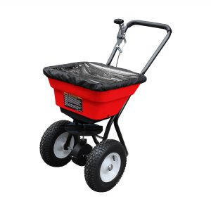 36KG ALL WEATHER - PNEUMATIC WHEELED - FLOW CONTROLLED - DUAL FUNCTION SPREADER-0
