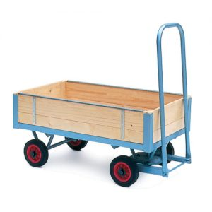 Turntable Trolleys with Slide-In Sides-0