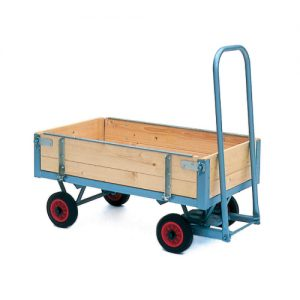 Turntable Trolleys with Hinged Sides-0