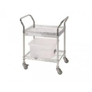 Chrome Wire Combo Trolley-0