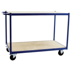 Wooden Shelved Trolley-0