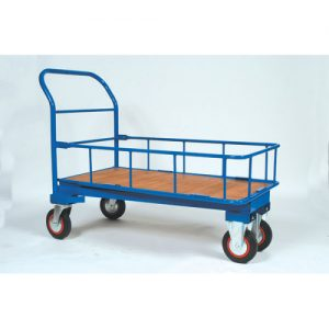 Cash and Carry Trolley with Side Rails-0