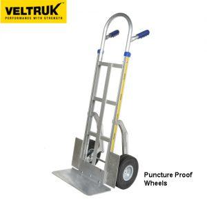 Veltruk 'Performer' Sack Truck with Wheel Guards, Centre Bar & Step Sliders