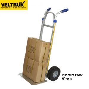 Veltruk 'Performer' Sack Truck with Long Nose & Double Grip Handle