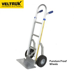 Veltruk 'Performer' Sack Truck with Bumper Strips & Step Sliders