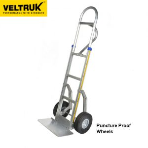 Veltruk 'Performer' Sack Truck with Step Sliders and Top Loop P-Handle