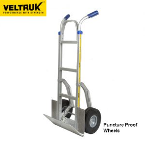 Veltruk 'Performer' Sack Truck with Folding Nose Plate, Wheel Guards & Step Sliders