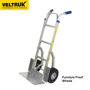 Veltruk 'Performer' Sack Truck with Wheel Guards, Step Sliders