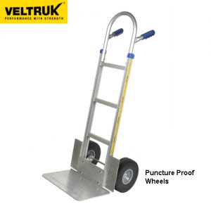 Veltruk 'Performer' Sack Truck with Wheel Guards and Long Nose Plate