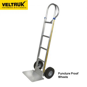 Veltruk P-Handle Sack Truck with Puncture Proof Tyres