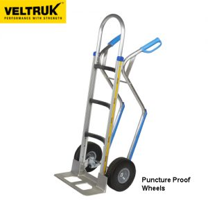 Veltruk 'Mercha' Sack Truck with Step Gliders