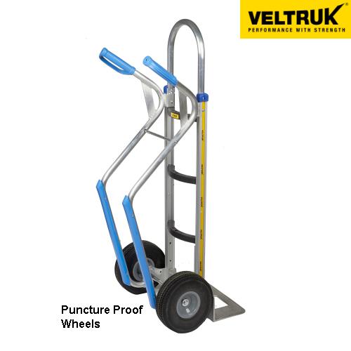 Veltruk 'Mercha' Sack Truck with Step Gliders