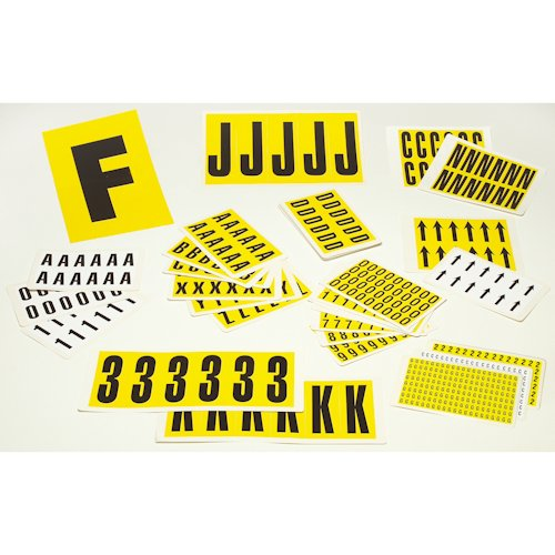 Self-Adhesive Letter & Number Labels-0