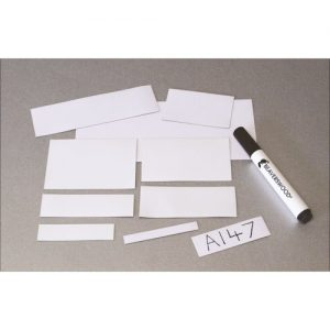 100mm Wide Easy Wipe Magnetic Markers -0