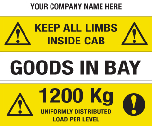 Magnetic & Self-adhesive Information Labels-0