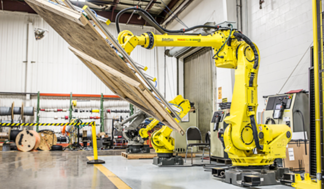 How industrial robots are facilitating demand in the material handling industry